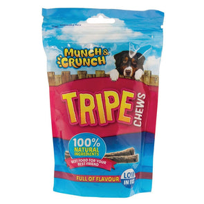 Munch & Crunch Tripe Chews Dog Snack 200g