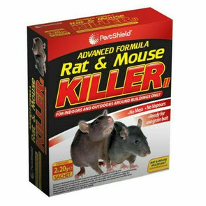 PestShield Advanced Rat & Mouse Killer Sachets