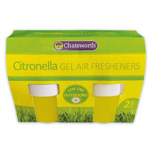 Citronella Gel Air Fresheners Twin Pack