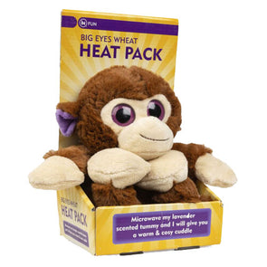 Lavender Heat Pack Cuddly Soft Toy
