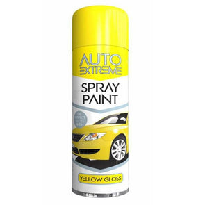 Rapide Auto Extreme Automotive AX Spray Paint Yellow Gloss 250ml
