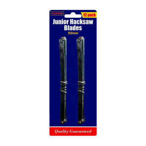 "Rapide Junior Hacksaw Blades 6"" 12 Pieces"