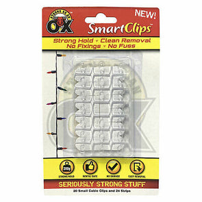 Strong As An Ox Smart Clips 20 Small Cable Clips