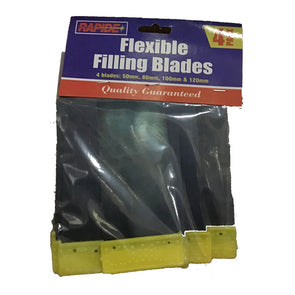 Rapide Flexible Filling Blades 4 Pack