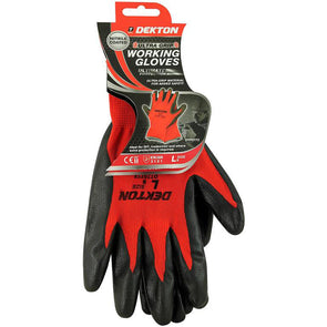 Dekton Ultra Grip Working Gloves Large