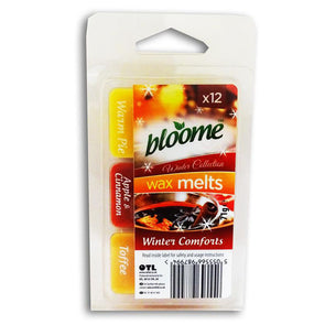 Bloome Wax Melts Winter Comforts 12 Pack - Case of 6