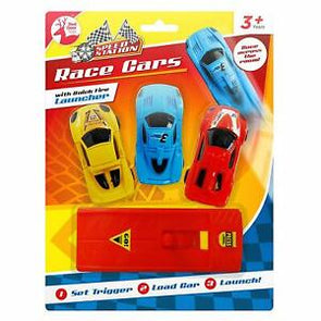 Toy Race Cars With Launcher