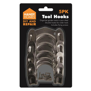 Handy Homes Tool Hooks 5 Pack
