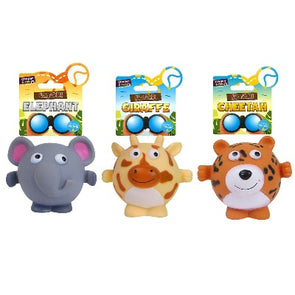Squeaky Safari Dog Toys