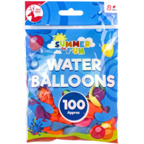 Water Balloons 100 Pack Bag
