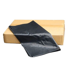 Heavy Duty Black Bags Flat Packed 200 Case Pack