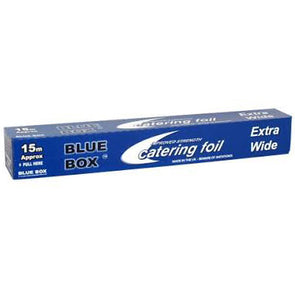 Blue Box Aluminium Catering Foil Extra Wide 15m