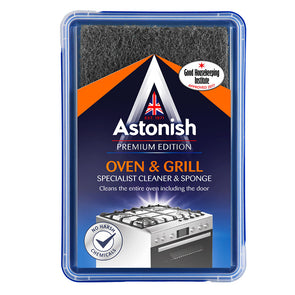 Astonish Premium Edition Oven & Grill Specialist Cleaner & Sponge 250g - Case of 6