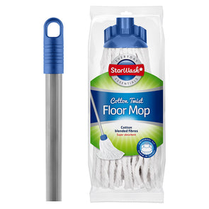 Starwash Cotton Twist Floor Mop with Handle