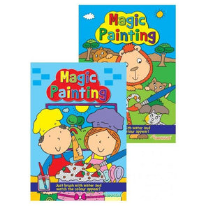 Magic Painting Book Children's Fun Colouring Activity - Case of 12