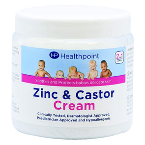Helathpoint Zinc & Castor Cream 225g - Case of 12