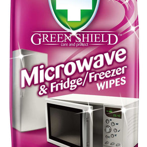 Green Shield Microwave & Fridge Freezer Wipes 70 Pack