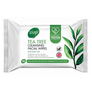 Tea Tree Cleansing Facial Wipes