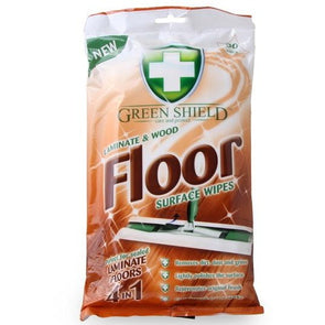 Green Shield Laminate & Wood Floor Surface Wipes