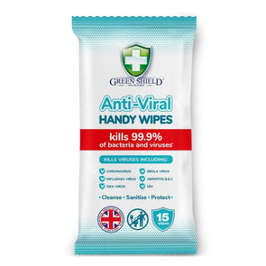 Green Shield Anti-Viral Handy Wipes