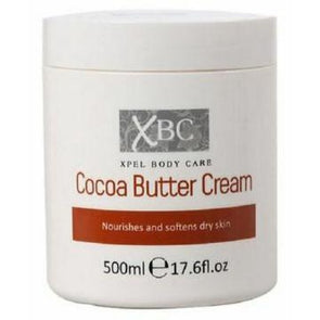 XBC Xpel Body Care Cocoa Butter Cream 500ml - Case of 12