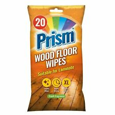 Prism Wood Floor Wipes 20 Pack