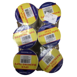 HY Trading Masking Tape 4 Pack