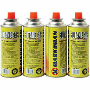 Marksman Butane Gas Canister Cartridge - Case of 4