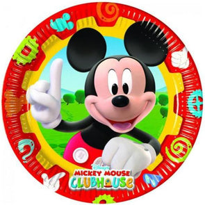 Mickey Mouse Clubhouse Paper Plates 8 Pack