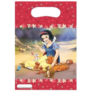 Disney Princess Snow White Loot Bags 6 Pack