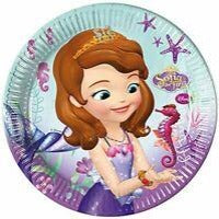Disney Sofia the First Party Plates 23cm 8 Pack