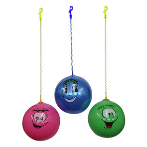 Scented Smiley Face Ball And Keychain