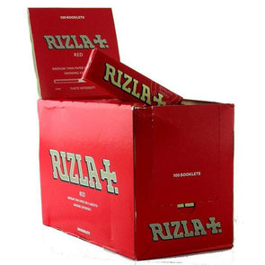 Rizla Red Medium Thin Paper 100 Pack