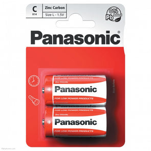 Panasonic C Battery 2 Pack