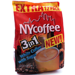 NY Coffee Red 3 in 1 12 Sachets