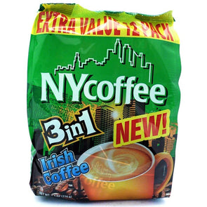 NY Irish Coffee Green 3 in 1 12 Sachets