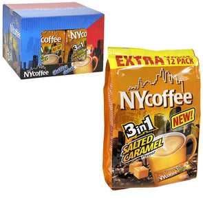 Ny Coffee Salted Caramel 3 In 1 12 Pack