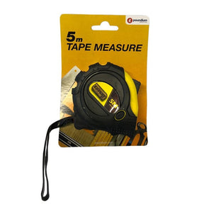 Tape Measure With Rubber Cover 5m