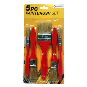 5pc Paintbrush Set