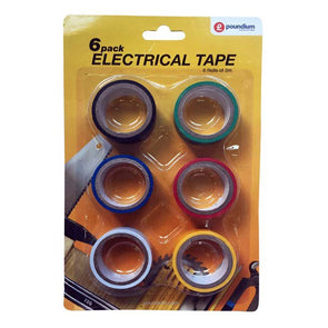 6 Pack Electrical Tape