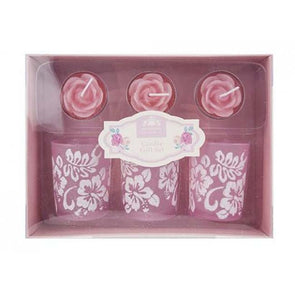 6pc Rose Candle Gift Set