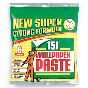 151 Wallpaper Paste 6 Pint Pack