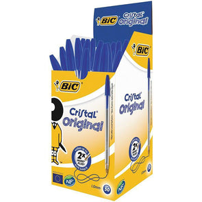 BiC Pens Cristal Original Blue 50 Pack