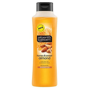 Alberto Balsam Honey & Sweet Almond Shampoo 350ml - Case of 6