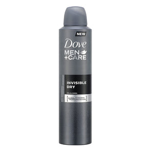 Dove Men+Care Invisible Dry Spray 250ml - Case of 6