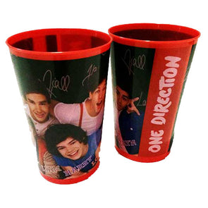 One Direction Red Tumblers 350ml 2 Pack