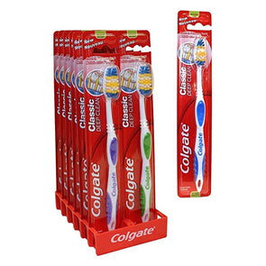 Colgate Classic Deep Clean Toothbrush - Pack of 12