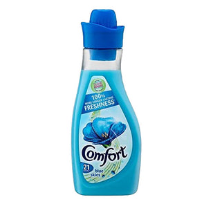 Comfort Fabric Conditioner Blue Skies 21 Wash 750ml - Case of 8