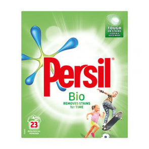 Persil Washing Powder Bio Removes Stains 23 Washes 1.495Kg