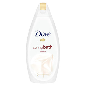 Dove Caring Bath Fine Silk 450ml - Case of 6